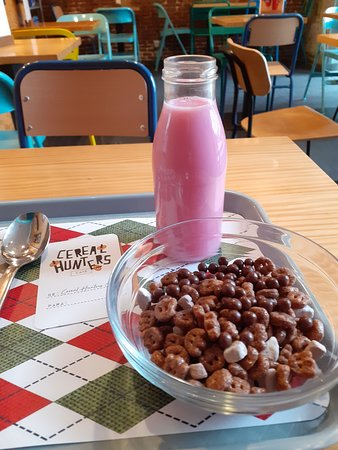 Cereal Hunters.Muy ricos