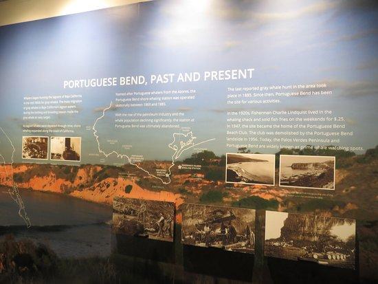 Portugeese Bend Exhibit, The Pointe Vicente Interpretive Center, Rancho Palos Verdes