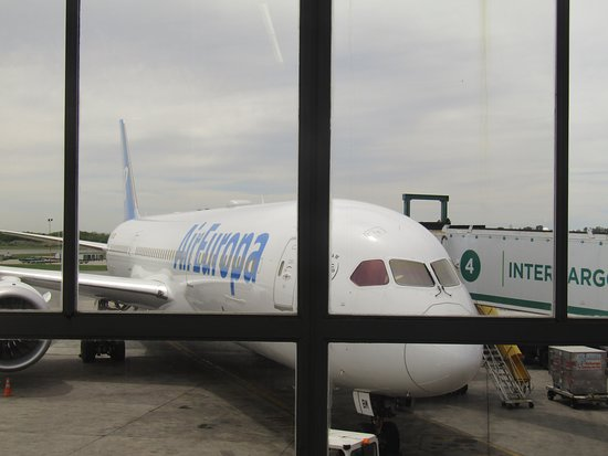 Air Europa: VISTA DEL AVIÓN
