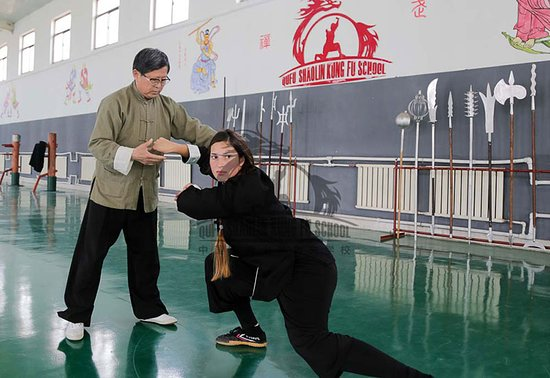 "Mantis Fist Class at Qufu Shaolin Kung Fu School in China. Visit our website ShaolinsKungFu.com or our Social Media for more information. Just search: ""Qufu Shaolin Kung Fu School in China"". Everyone is welcome to Apply! Join our Kung Fu Family TODAY!"