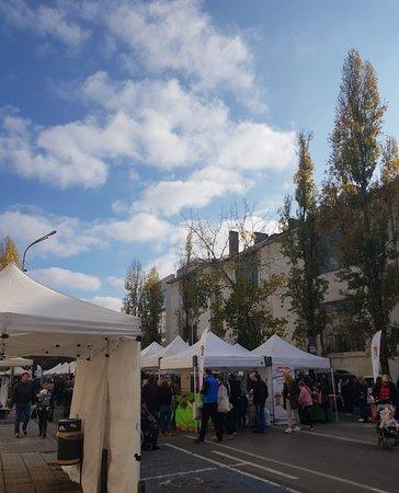 Market in Sofia Center district