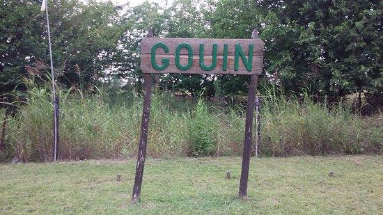 Estación Gouin, a 10 km de Carmen de Areco, su ciudad cabecera.
