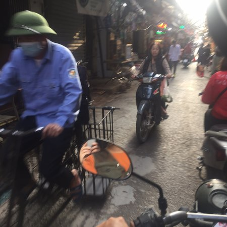 A wonderful backstreet bike tour!  A great adventure to see and feel how the people drive here, there are no rules. Local food and outside the usual touristic area. A must do!