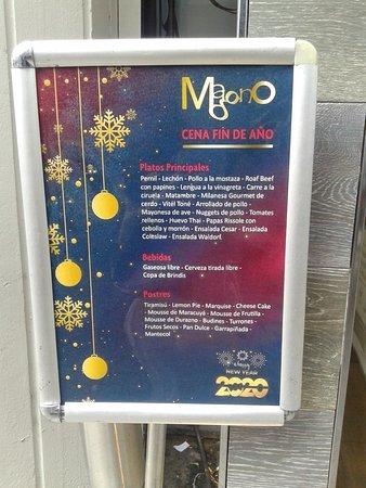 Magno Confiterìa y Restaurante: Cena Fin de Año- Barrio Caballito, Bs.As. 2019.