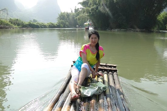 Boating on the Yulong River