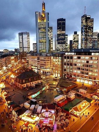 Frankfurt, Tyskland: Mercatini di Natale 2019