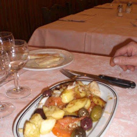 Baccalà al forno con verdure
