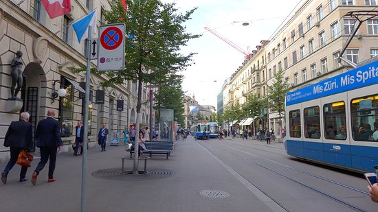 Улица Банхофштрассе