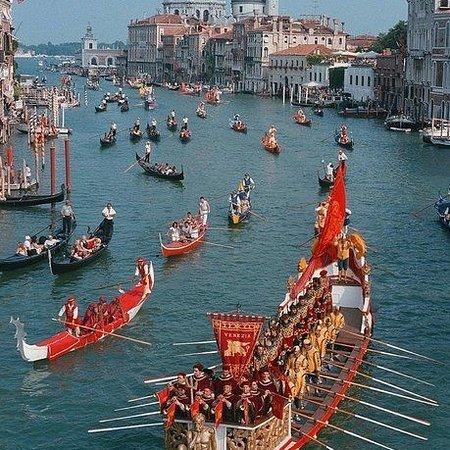 Lido di Ostia, Italia: Regata storica a Venezia