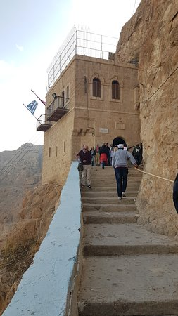 Yavne, Israel: Mount Temptation, Jericho
