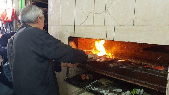 Yavne, Israel: Street food in the old city, Jerusalem