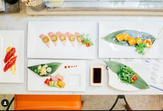 Sushi & Sashimi from Todd English at The Plaza