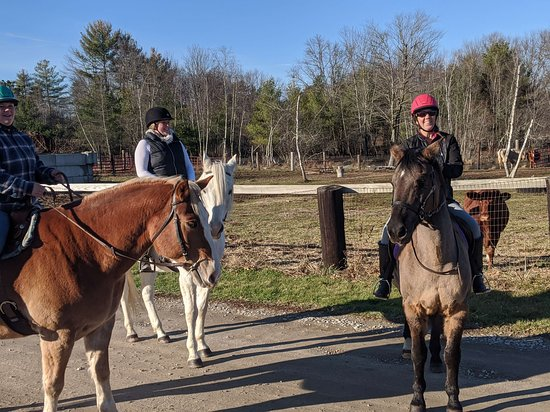 Fremont, NH: Nature Trail Ride 1-2 hours on the Rockingham Rail-Trail network leaving from North Road Farm year around, weather permitting.