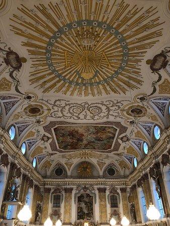 Burgersaalkirche - ceiling