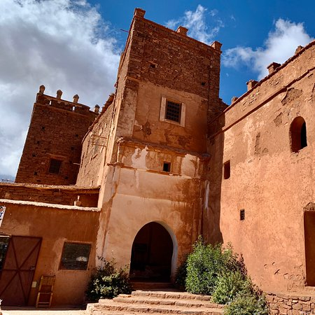 """Telouet Kasbah is spectacular! Although the exterior is deteriorating, the interior has remained beautifully preserved. Read """"Lords of the Atlas"""" by Gavin Maxwell to bring it to life."""