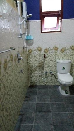 Ettukala, Шри-Ланка: Bathroom with Hot water