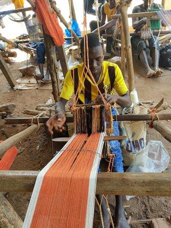 Korhogo, Costa de Marfil: Cooperative des Tisserands