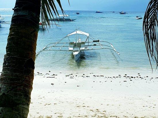 Alona beach in Panglao island - Bohol Philippines.