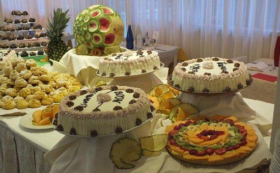 Il buffet dei dolci di chef Antonio!