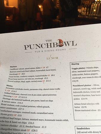 Déjeuné de fish and chips au PunchBowl (Mayfair - London)
