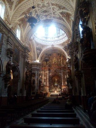 Basilica de Nuestra Senora de las Angustias - Granada.