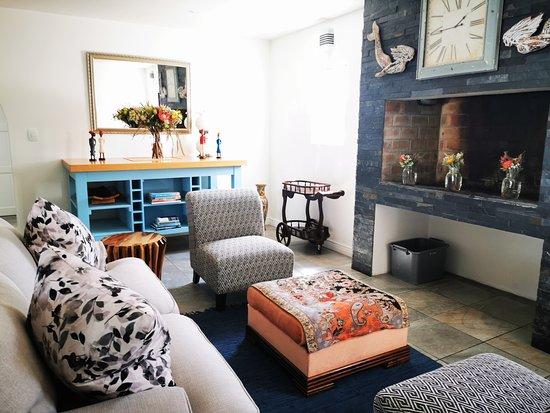 Cozy communal lounge