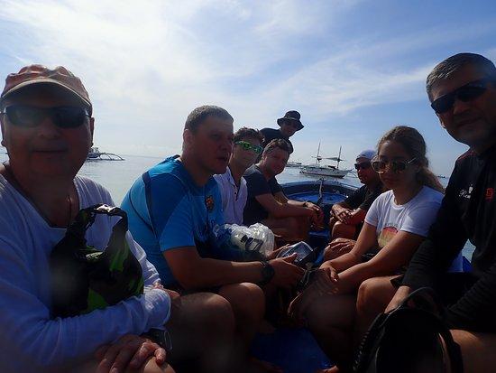 Panglao Island, Philippines: на китовых!!!