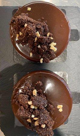 Tarta de chocolate negro