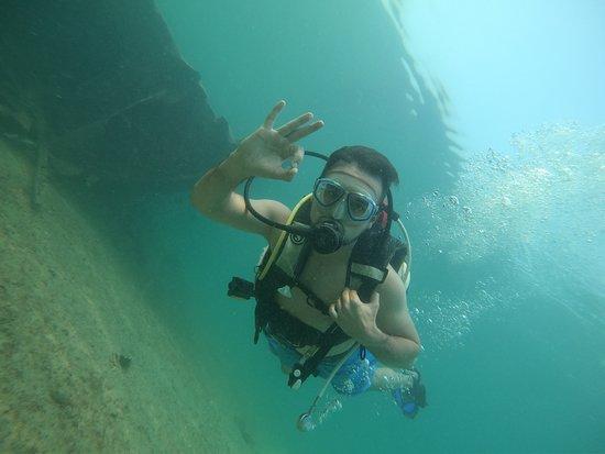 Kish Island, Iran: Scuba diving in Kish Isalan