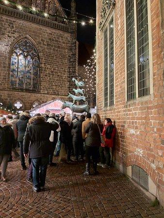 Weihnachtsmarkt Besuch