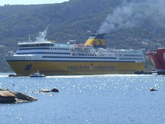Corsica, France: arrivée bateau continent Porto Véccio
