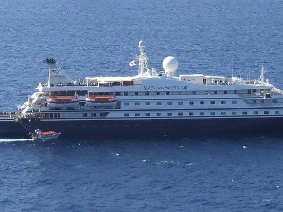 Corsica, France: bateau entre Sardeigne Bonifacio