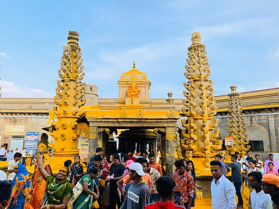 It is famous for the temple of Lord Khandoba. Khandoba is regarded as the 'God of Jejuri'. Around 70-75kms from Pune, Maharashtra.