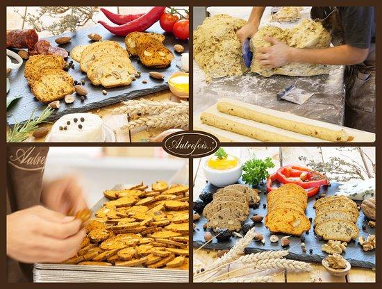Milhaud, Франция: la fabrication de nos croquants apéritifs...