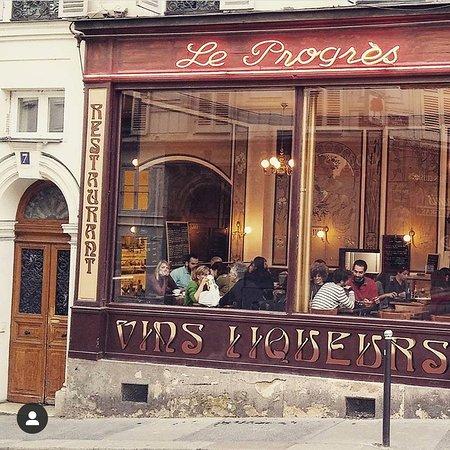 Le Progres, Paris - 7 rue des 3 Freres, Clignancourt - Menü ...