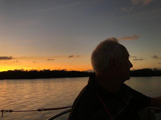 Sunset Sip & Sail - Alle kan være med!: Heading back to the dock