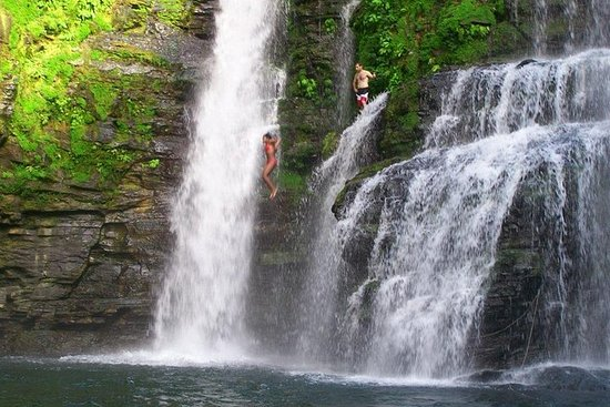 Waterfall tour at Jaco Beach from San...