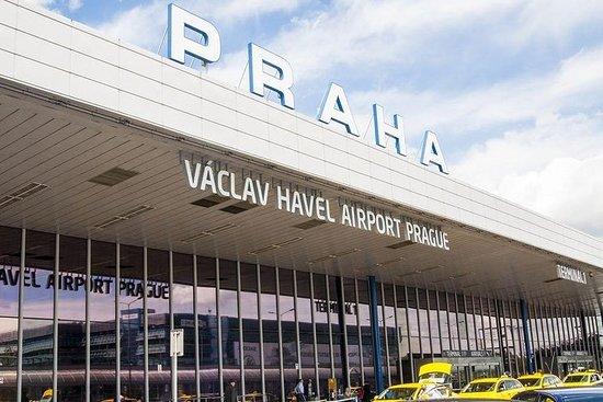 개인 도착 전송 : 프라하 공항에서 중앙 프라하 사진