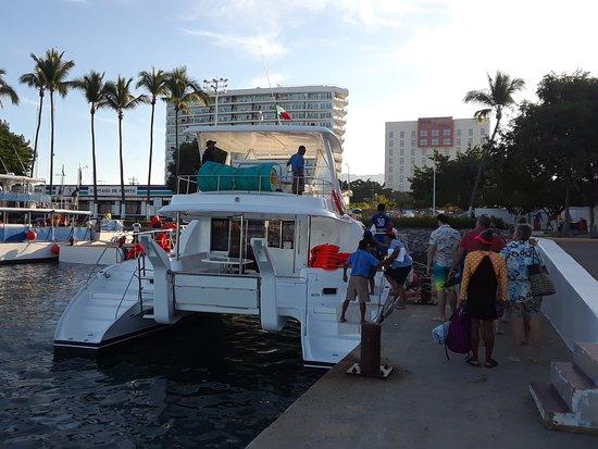Luxury Yacht & Snorkel in Puerto Vallarta: Imagine of boat.