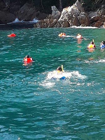 Luxury Yacht & Snorkel in Puerto Vallarta: Snorkeling
