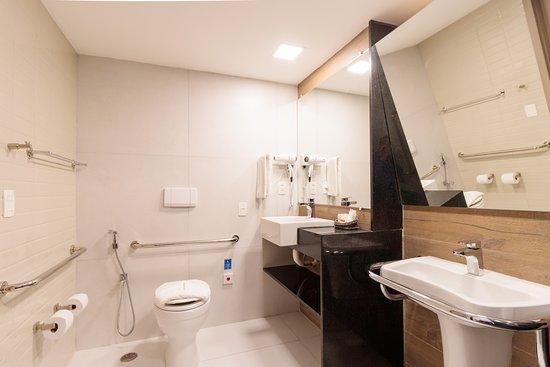 Banheiro apartamento adaptado
