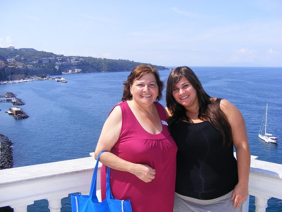 A Mediterranean cruise with Mom.