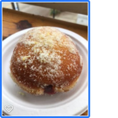 Berliner (in German) and here in CHS a Doughnut with Jelly ... WOW, tasted like back in Europe (very very good)
