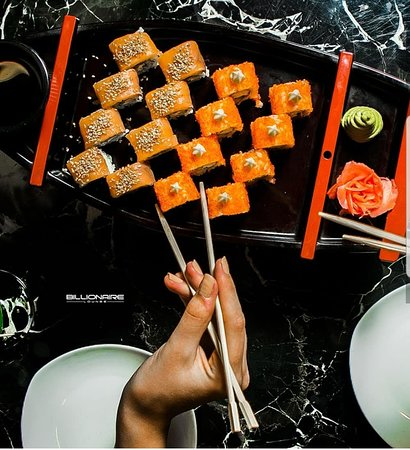 The best sushi sets.