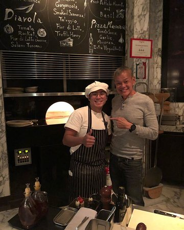 Chef Yuchi Ito - an excellent Chef