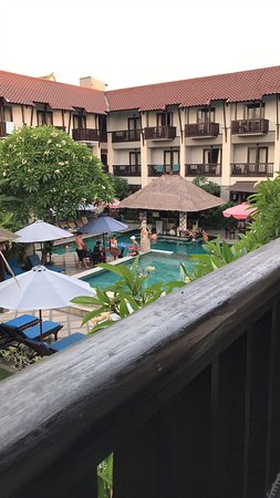 last room 221 overlooking pool bar doesnt get arfternnon sun is a bonus