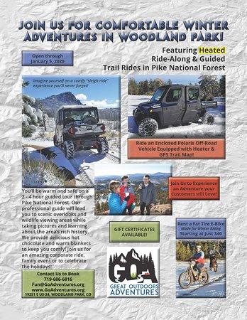 Gift of adventures, Pikes Peak Region, Colorado.  Amazing memories!