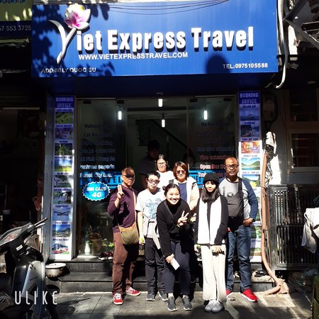 Welcome Ms. Nichaphat Fongkaew to come to Viet Express Travel office. We are glad to meet you and your team. It's so amazing to travel with you to Sapa from 5th December to 8th December. We hope to travel with all of you next time in Vietnam.