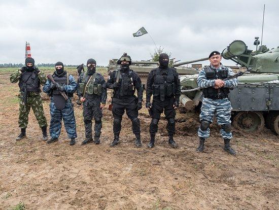 """Можайский район, Россия: Уникальная программа """"Спецназ шоу"""", вместе с танками это что то невероятное!"""