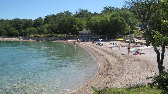 Kijac Beach in Njivice island Krk Croatia